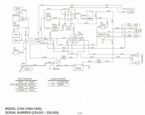 Ih Cub Cadet Forum  2165 Wiring Diagram