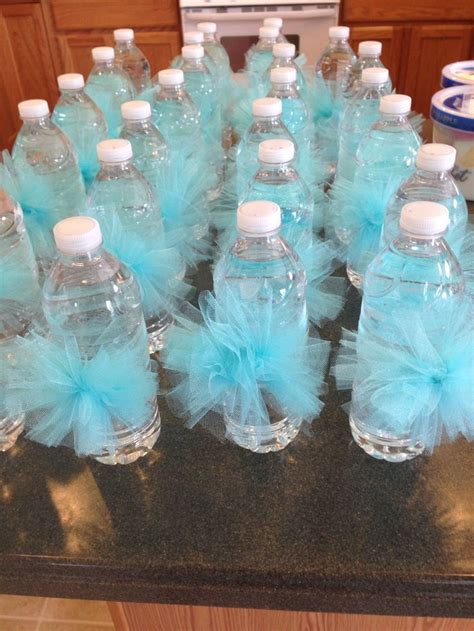 blue centerpieces for baby shower shower ideas tiffany blue mint baby 3 pinterest