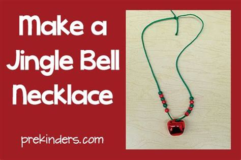 how to draw a jingle bell make a jingle bell necklace christmas parties activities and other