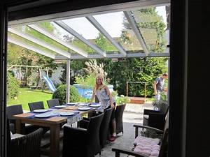 Terrassenüberdachung Glas Stahl : terrassen berdachung mehr als edel und stahl in ~ Articles-book.com Haus und Dekorationen
