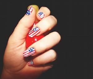Ideas de Nail Art con banderas de países para los Juegos