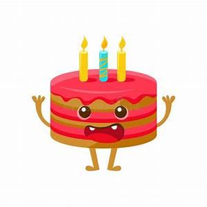 Gateau Anniversaire Dessin Animé : g teau d 39 anniversaire avec une bougie joyeux anniversaire et personnage de dessin anim de ~ Melissatoandfro.com Idées de Décoration