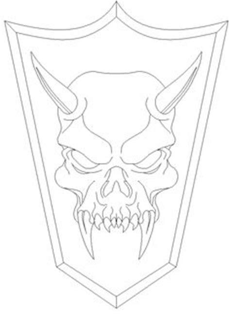 purple zombie demon skull ink drawing   demon drawings skull coloring pages drawings