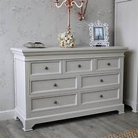 chest of drawers 6 Drawer Chest of Drawers - Daventry Grey - Melody Maison®