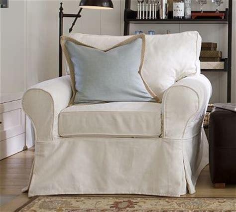 pb basic slipcovered armchair slipcover box performance