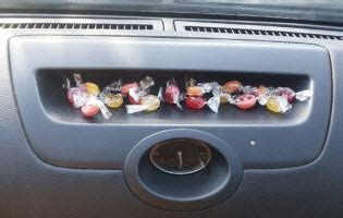 remove melted candy   car dashboard