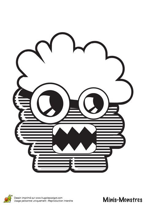 bureau de recherche g logique et mini e coloriage minis monstres nuages sur hugolescargot com