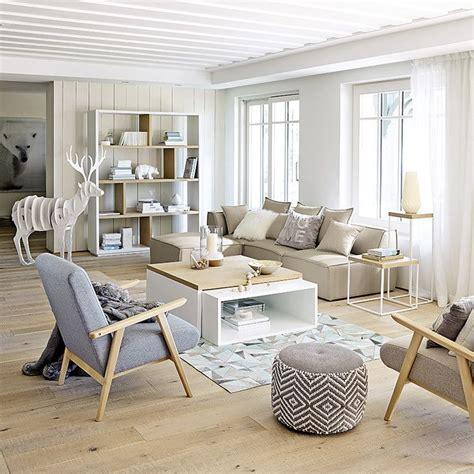 meubles deco dinterieur contemporain maisons du monde deco salon pinterest