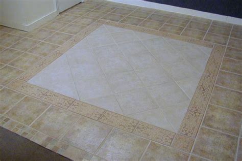 porcelain floor tile patterns stone look ceramic tile floor with border tile in rug pattern
