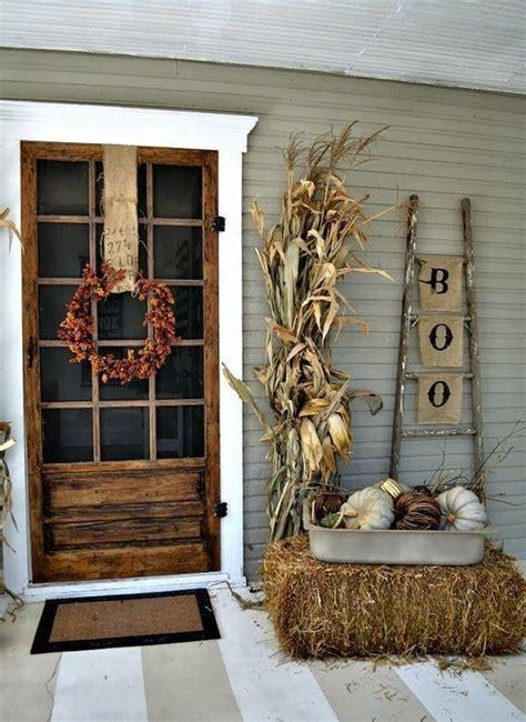 outdoor fall decor ideas   easy  recreate