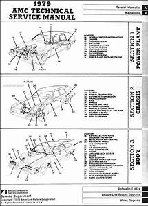 1979 Amc Repair Shop Manual Original 79 Pacer  Spirit  Amx