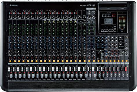 mixer console mgp series tinjauan mixer professional audio