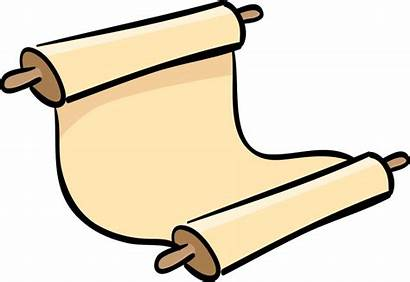 Scroll Torah Clipart Transparent Vector Hebrew Jewish