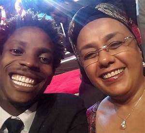 Eric Omondi's Epic Selfie With First Lady Margaret ...