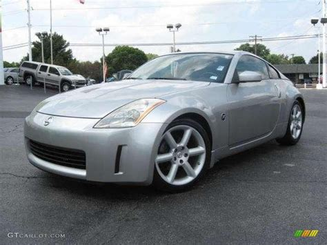 silver nissan 2003 chrome silver nissan 350z touring coupe 16762407