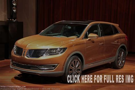 lincoln mkx specs suv  anticipated  auto suv