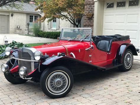 pinto engine 1929 mercedes gazelle kit car replica for sale