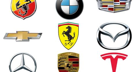 The Meanings Behind Car Makers' Emblems