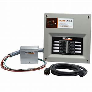 Generac Upgradeable Manual Transfer Switch Kit For 8