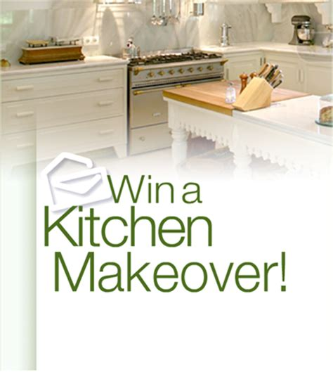 how to win a free kitchen makeover follow this recipe to win a kitchen makeover pch 9600