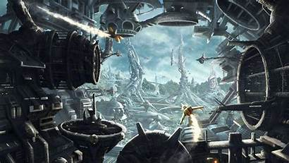 Sci Fi Wallpapers Background Science Desktop Fiction