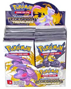 pokemon black and white 11 legendary treasures booster box