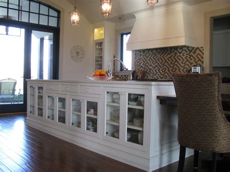 kitchen island display cabinets contemporary kitchen