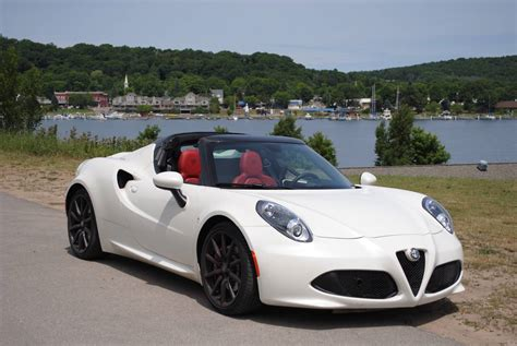 2016 Alfa Romeo 4c Spider Review Gtspirit