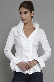 White Shirts Blouses Women