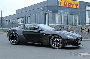 Aston Martin Vanquish 2018 : 2018 aston martin vantage spotted winter testing with amg v8 autocar ~ Maxctalentgroup.com Avis de Voitures