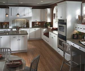 White beadboard kitchen cabinets homecrest for Kitchen colors with white cabinets with download love stickers
