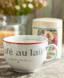 Café Au Lait : garde manger mug cafe au lait tableware and home decor ~ Carolinahurricanesstore.com Idées de Décoration