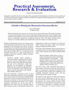 Writing A Literature Review For A Dissertation  Top 10