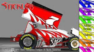 Sprint Car Graphics