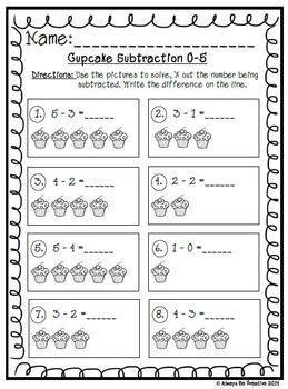 cupcake subtraction   subtraction subtraction