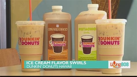 Mar 20, 2019 · dunkin' donuts actually encourages the following iced coffee menu hacks, using these ingredients: Ice Cream Flavor Swirls at Dunkin' Donuts - YouTube