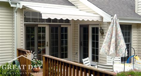 retractable awning ideas pictures designs great day improvements
