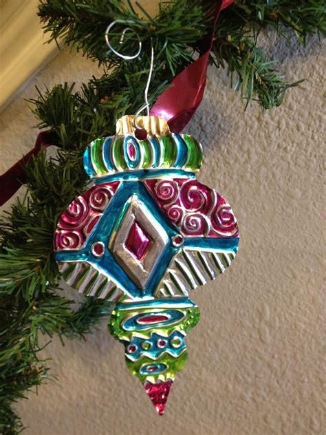 aluminum foil metal embossing repousse ornament create