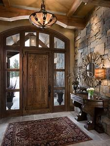 Stone Entry Home Design Ideas  Pictures  Remodel And Decor