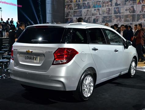 Chevrolet Lova by Chevrolet Lova Rv Debuts On The Guangzhou Auto Show In