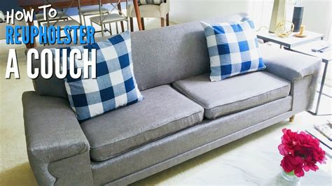 Diy  How To Reupholster A Midcentury Modern Couch