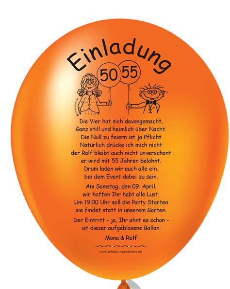 lustige geburtstagseinladungen auf luftballons drucken lassen