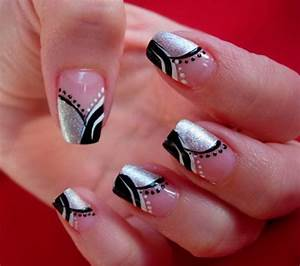 Creative hot fashion new year eve nail art designs