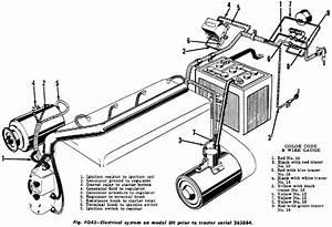 Ford 8n Parts Diagram