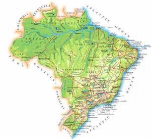 Printable Brazil Map