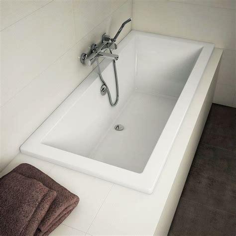 baignoire rectangulaire 170x75 cm acrylique olu