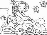 Coloring Garden Pages Water Gardening Clipart Watering Printable Flower Spring Line Nutcracker Colouring Clip Sheets Bestcoloringpagesforkids Preschool Student Print Fruit sketch template