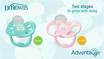Pacifier Advantage Dr Brown Highlight Mouth Stages
