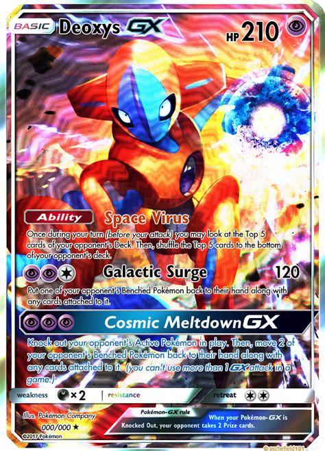 Deoxys GX (000/000) by PokemonOmegaandAlpha on DeviantArt