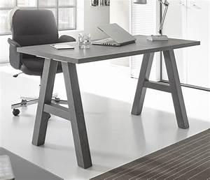 Schreibtisch 140 Cm : schreibtisch 140 cm mister office graphit sb m bel discount ~ Indierocktalk.com Haus und Dekorationen